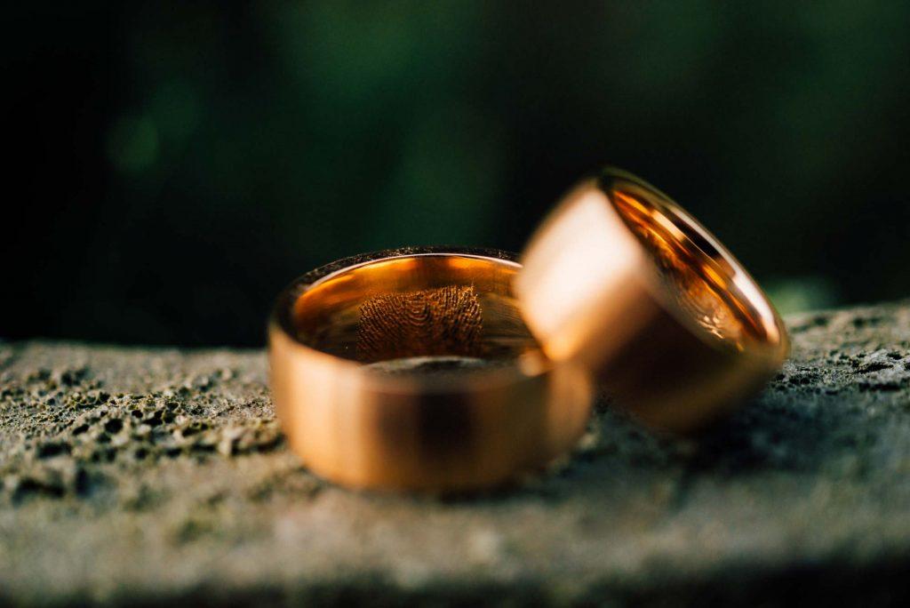 Hochzeitsringe Fotografie