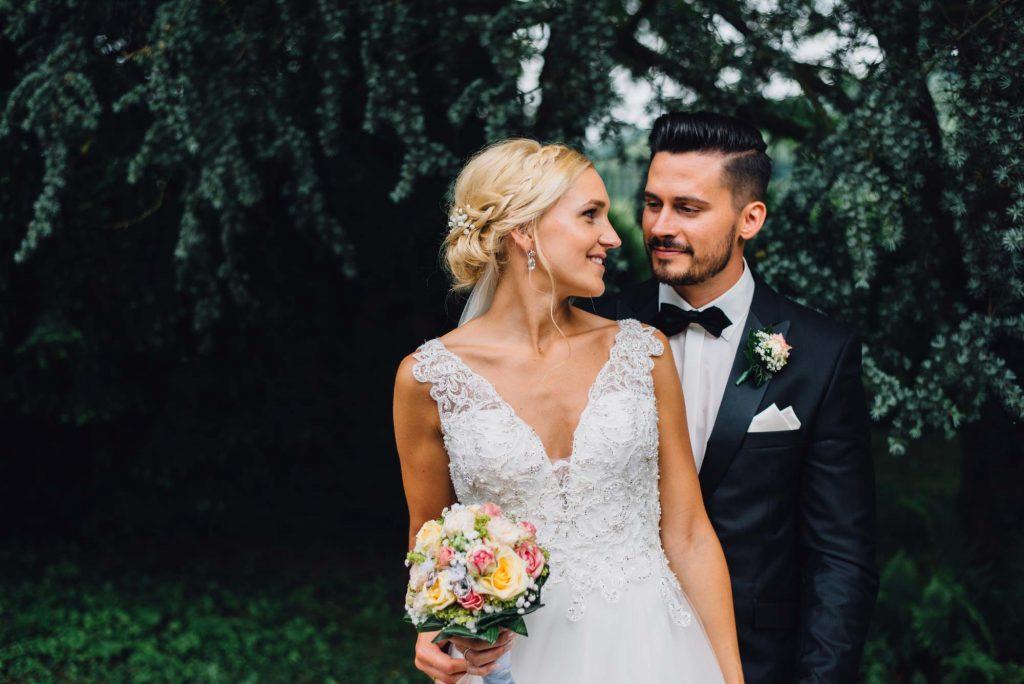 Schloss Rahe Hochzeit Brautfotos