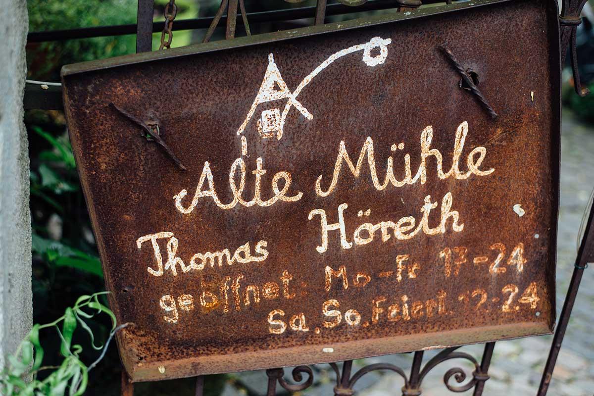 Alte Mühle Thomas Höreth Mosel