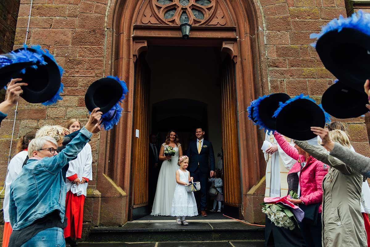 Auszug Brautpaar St. Andreas Altrich