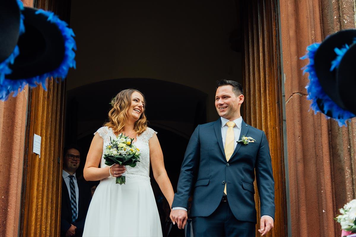 Brautpaar Kirchliche Hochzeit St. Andreas Altrich