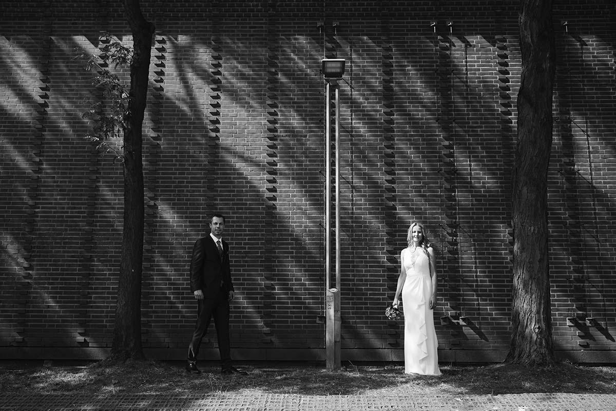 Brautpaar Kölner Innenstadt
