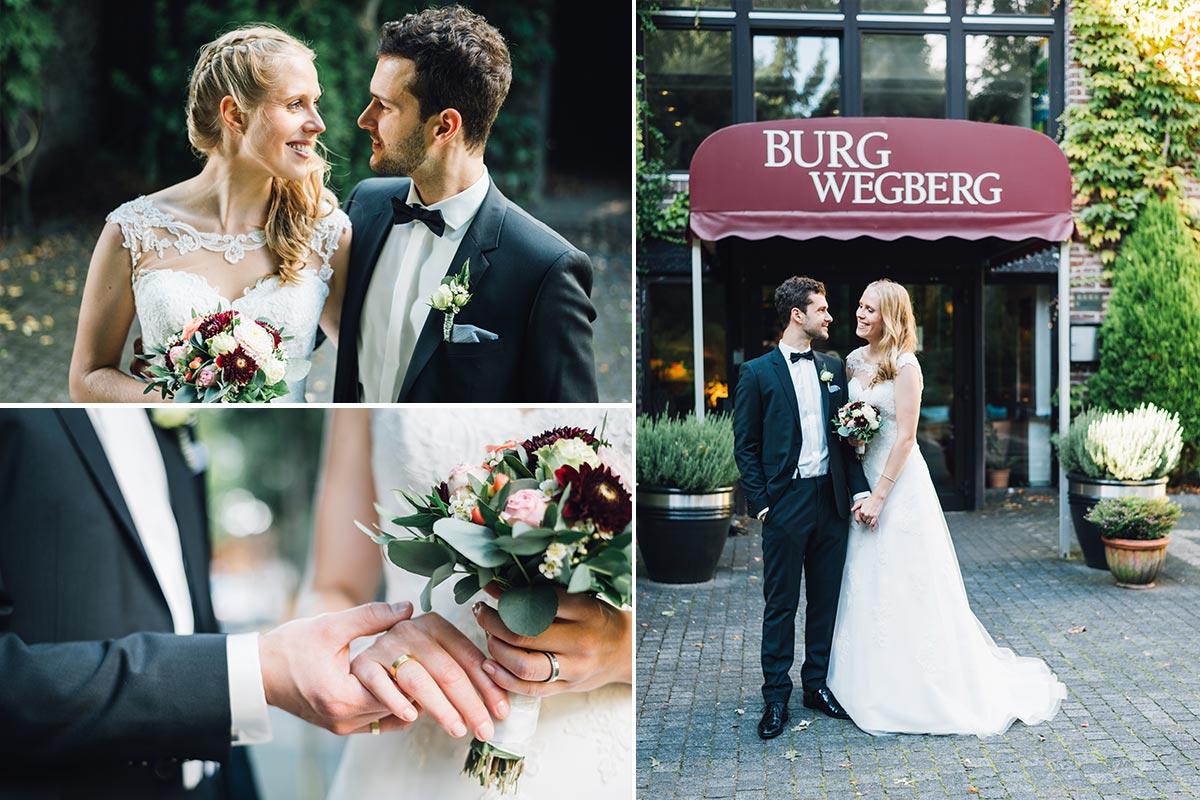 Burg Wegberg Hochzeitsfotografin