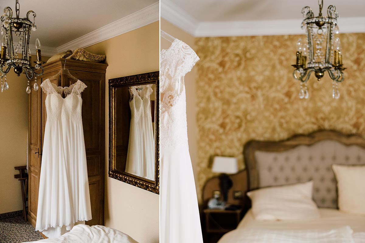 Getting Ready Brautkleid Details