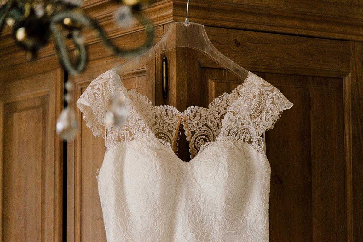 Getting Ready Brautkleiddetails