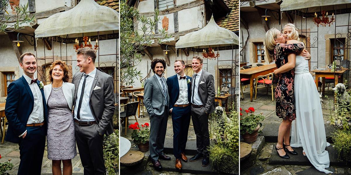 Gruppenfotos Alte Mühle Höreth Mosel
