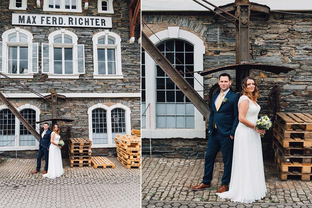 Hochzeits-Architekturfotografie an der Mosel