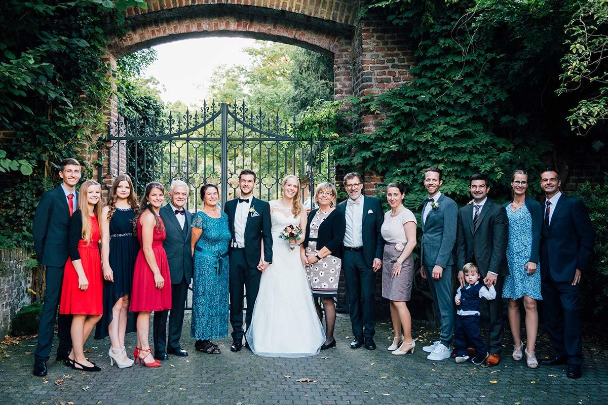 Hochzeits-Gesellschaft Burg Wegberg