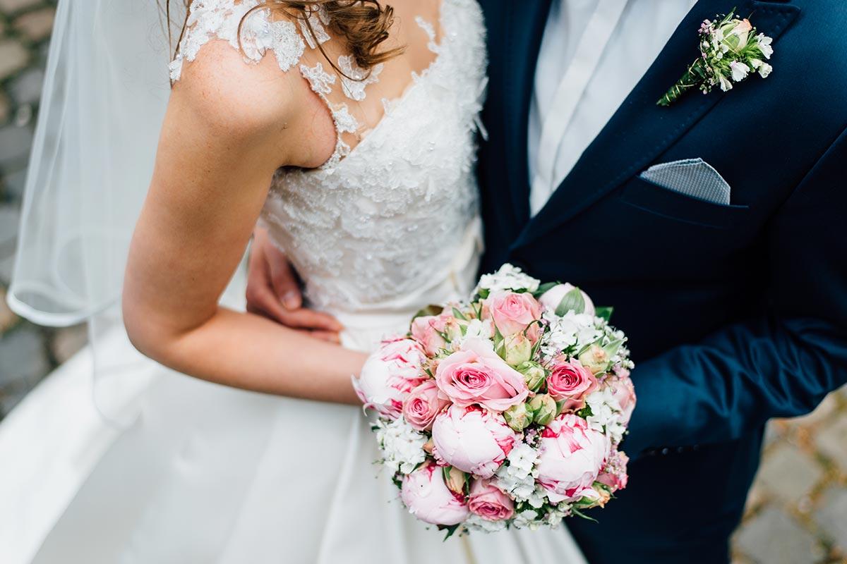 Hochzeitsblumen Pfingstrosen