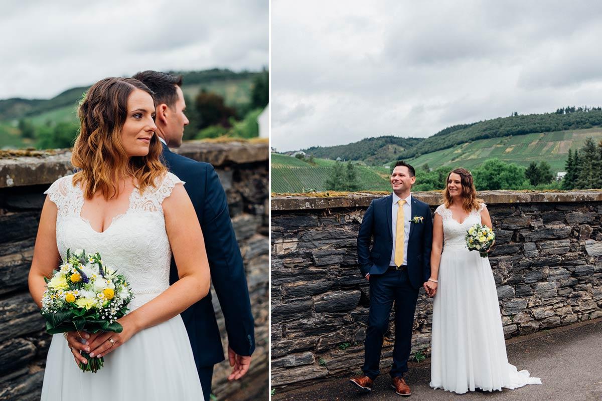 Hochzeitsfotografin an der Mosel