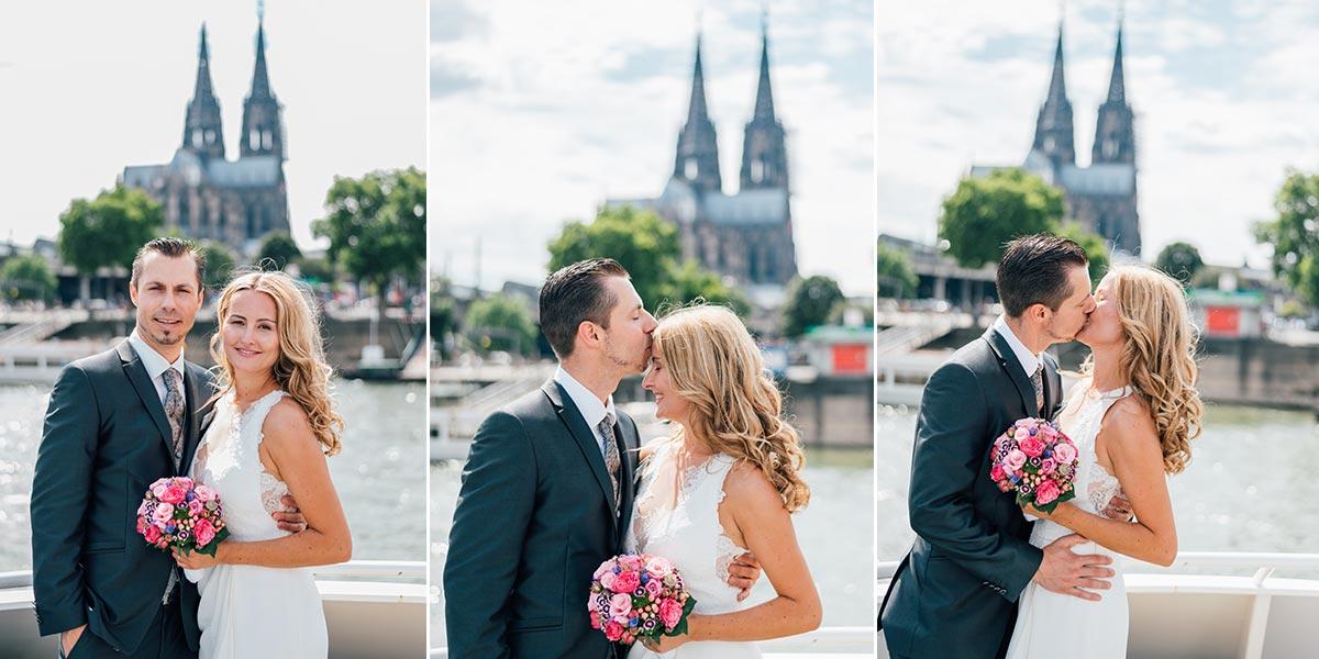 Hochzeitsfotos mit Domblick Köln
