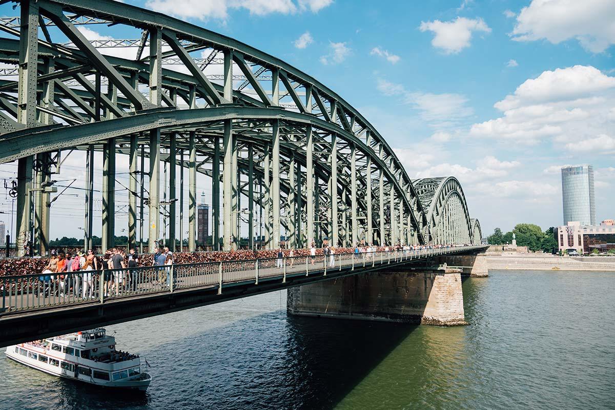 Hochzeitsfotos Rheinbrücke Köln