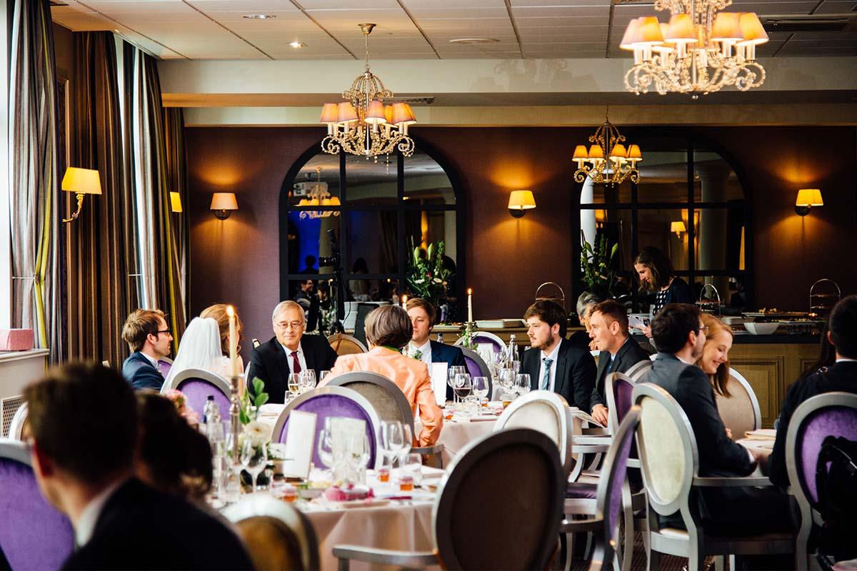 Hochzeitsgesellschaft Kasteel Bloemendal