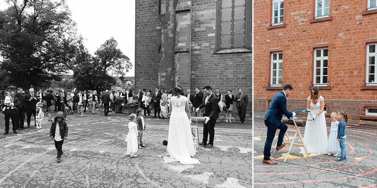Hochzeitsspiele Kirche St. Andreas Altrich