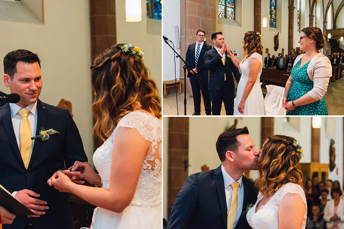 Ja-Wort Kirchliche Hochzeit Altrich
