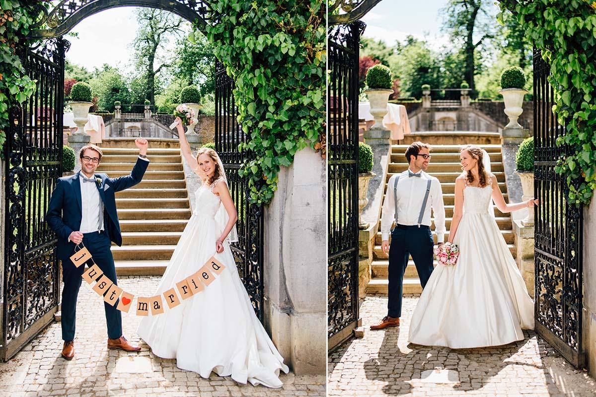 Kasteel Bloemendal Hochzeitsbrautpaar