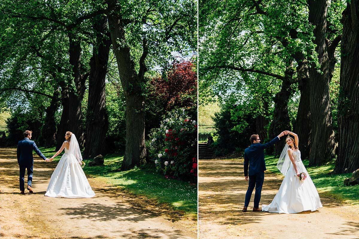 Kasteel Bloemendal Hochzeitsfotograf