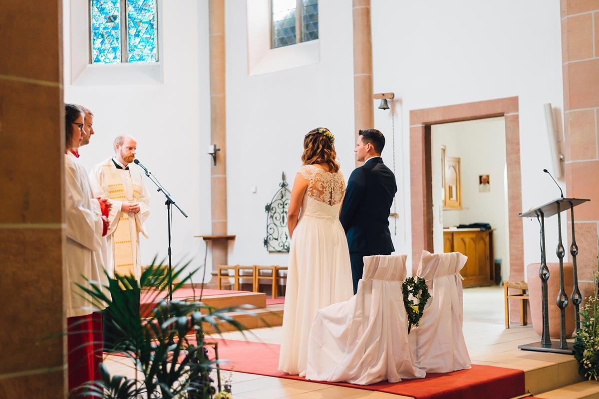 Kirchliche Hochzeit Altrich