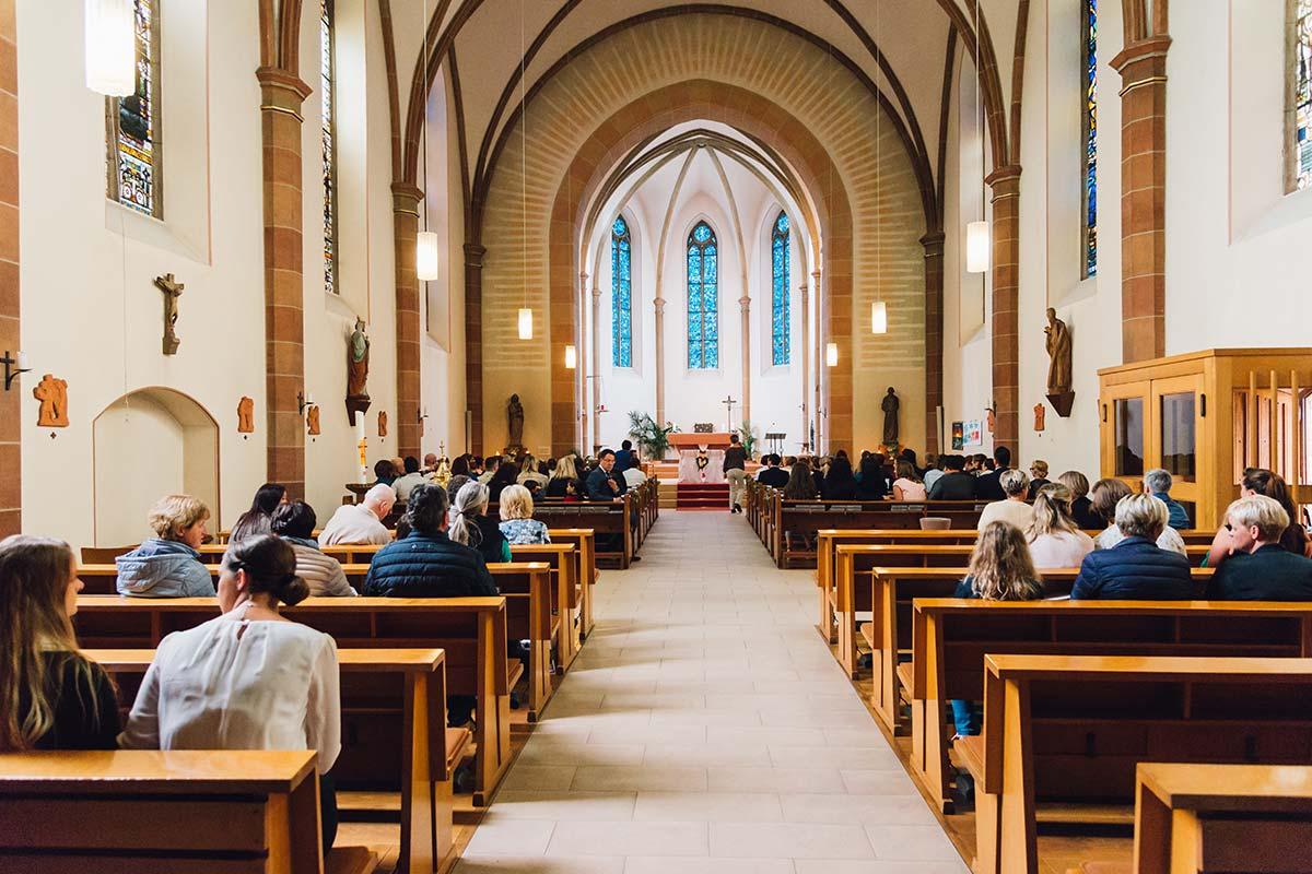 Kirchliche Hochzeit St. Andreas Altrich