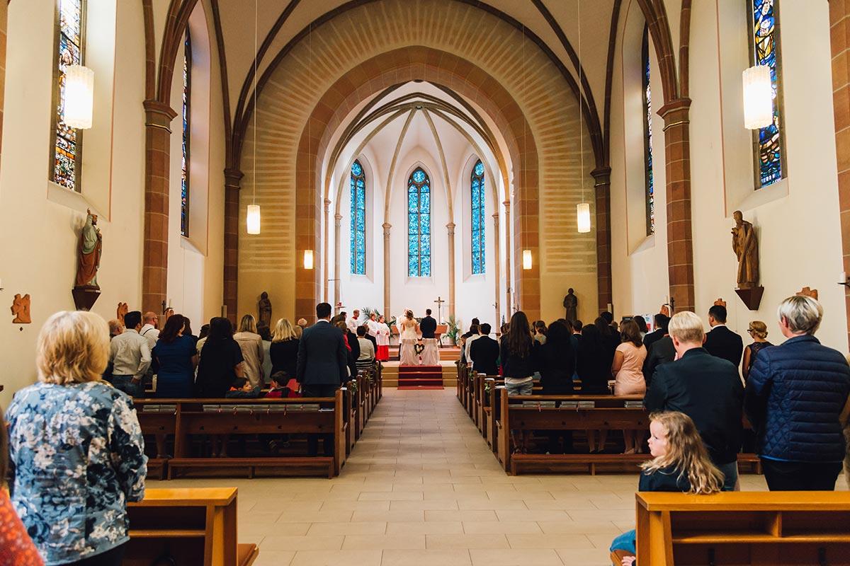 Kirchliche Trauung St. Andreas Altrich