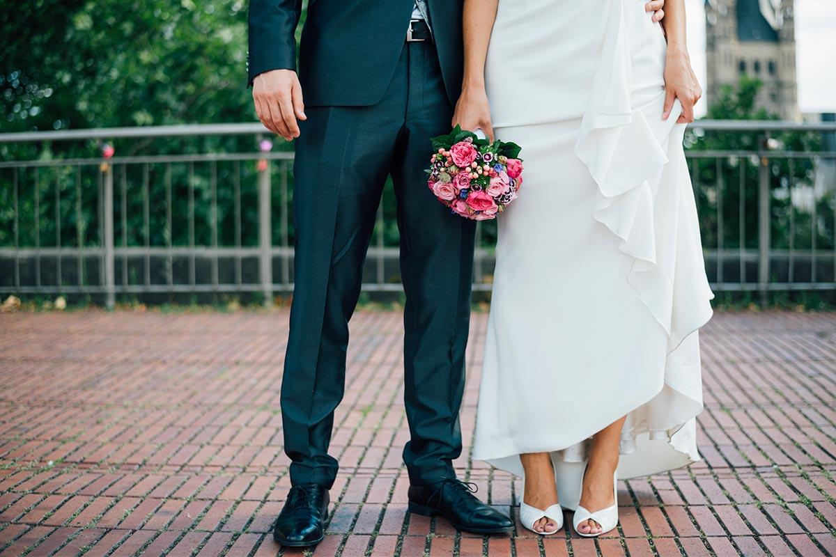 Kölner Innenstadt Hochzeitsschuhe