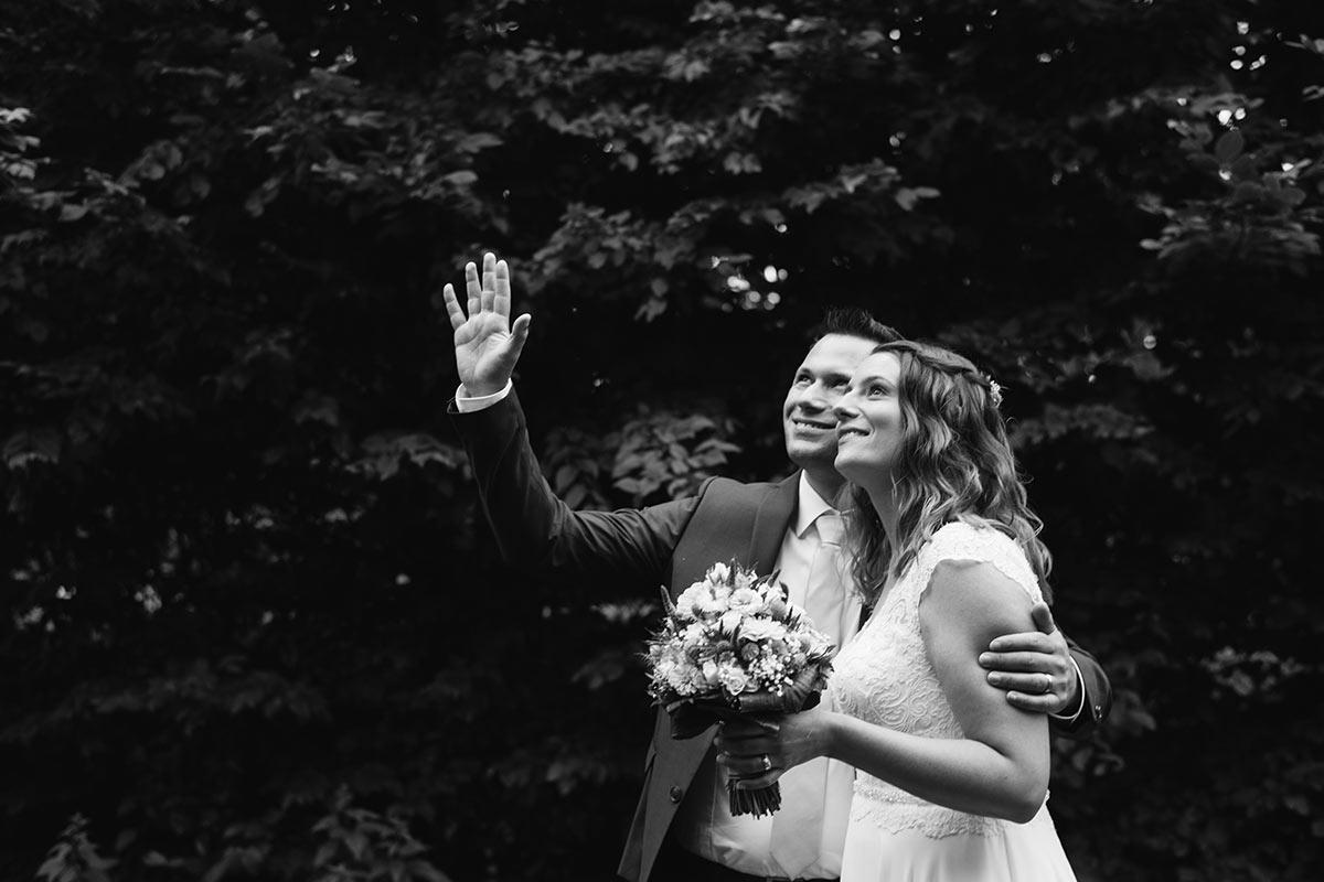 Natürliche Hochzeitsfotografie an der Mosel