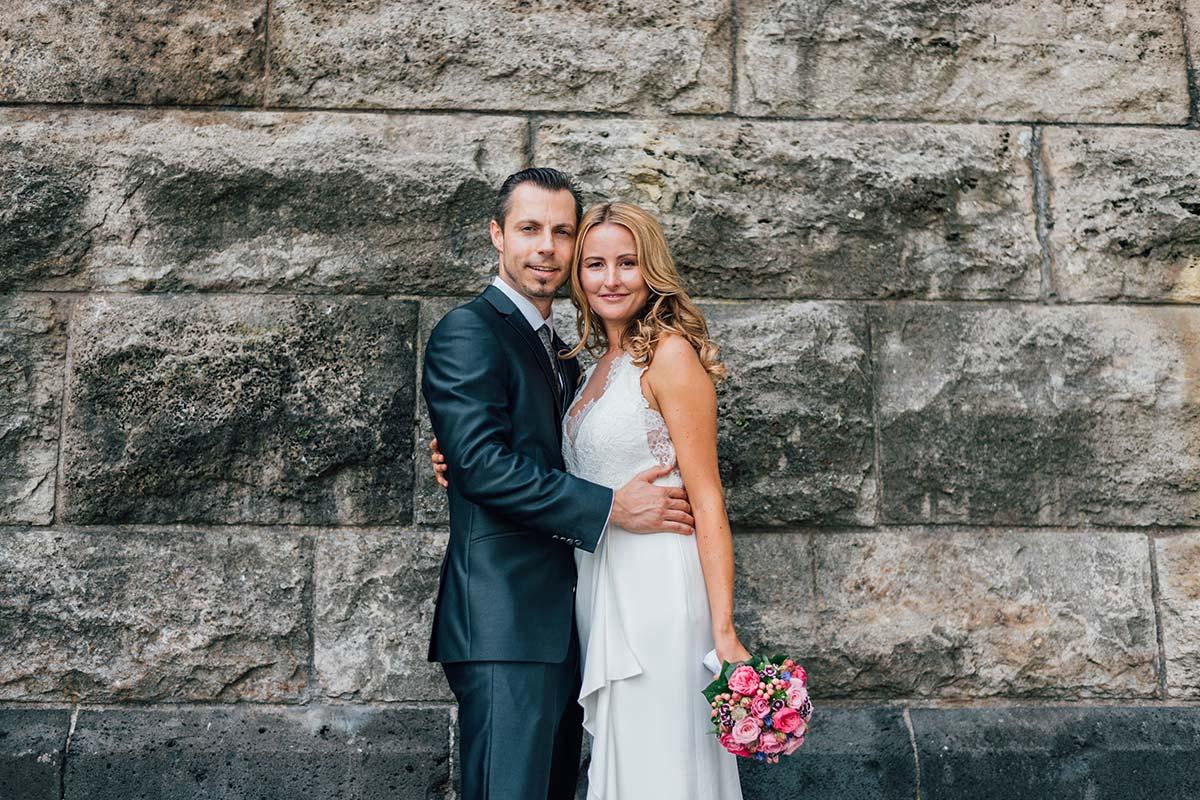 Natürliche Hochzeitsfotos Köln-Innenstadt