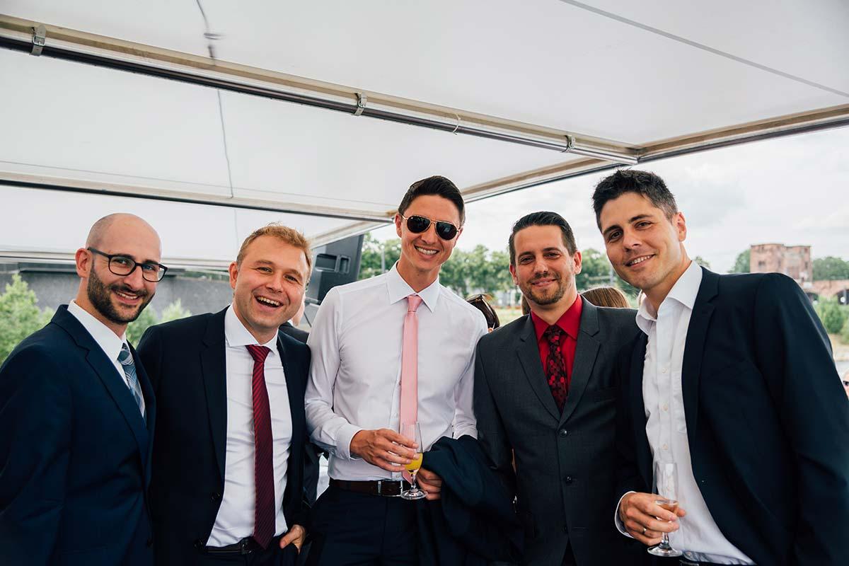 Rhein Hochzeit Trauzeugen