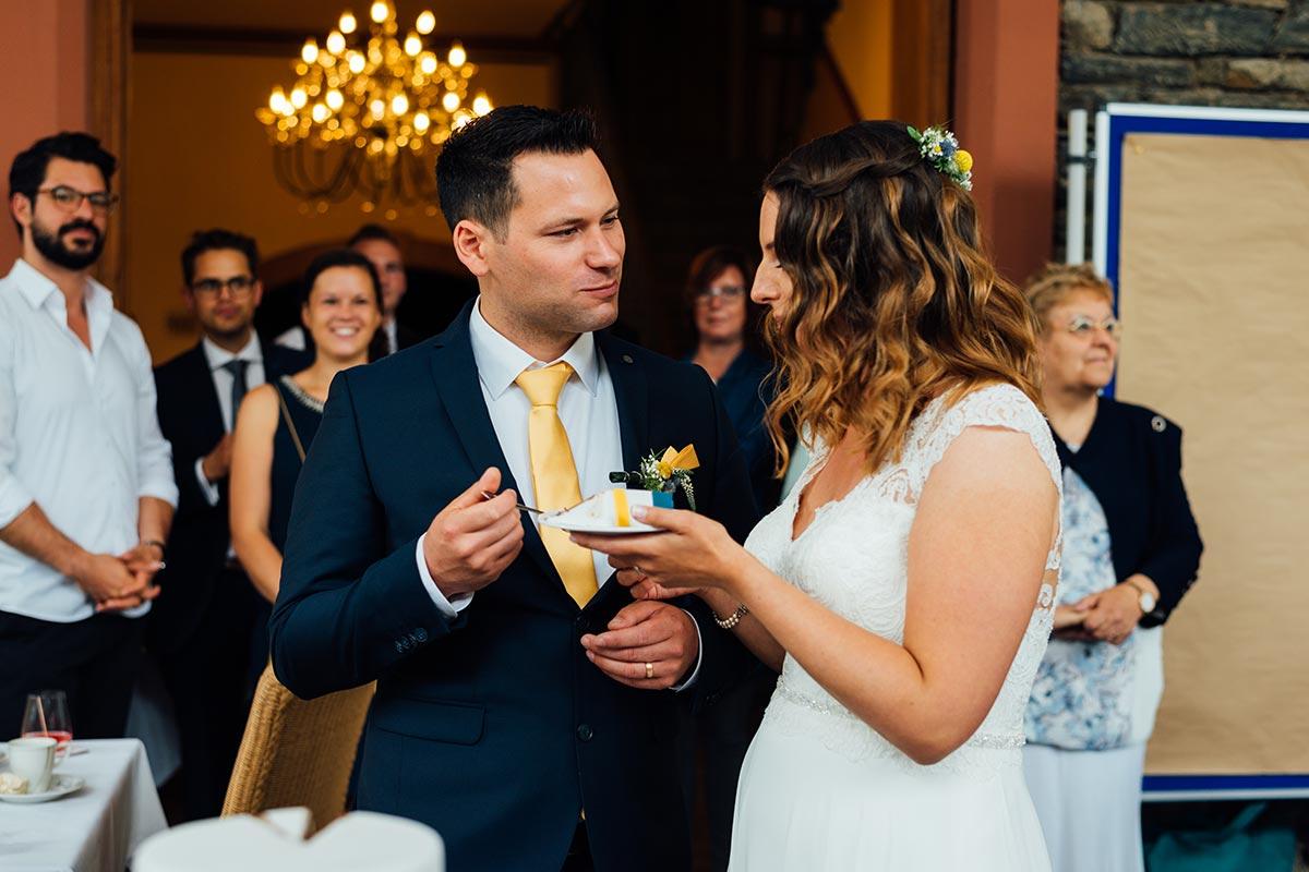 Richtershof Hochzeitstorte Brautpaar