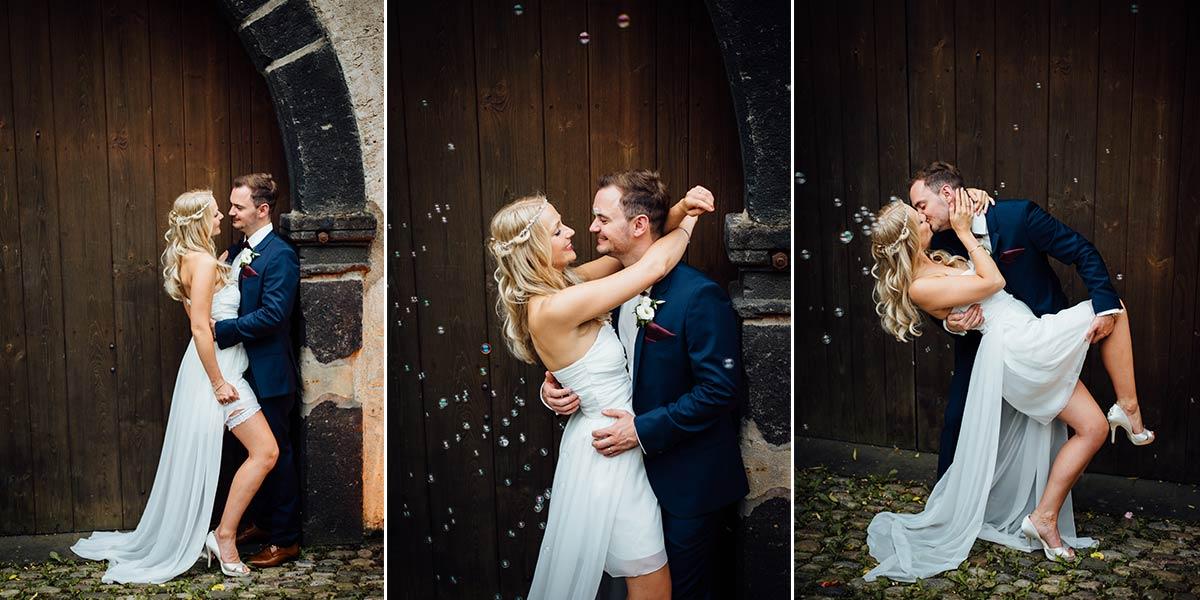Sexy Hochzeitsfotos