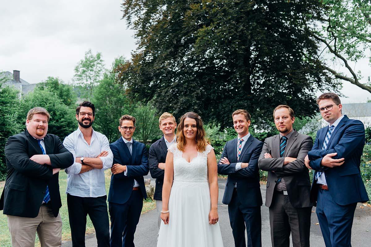 Weinromantikhotel Richtershof Trauzeugen und Braut