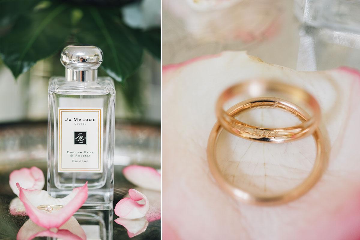 Schmuck Parfum Hochzeit
