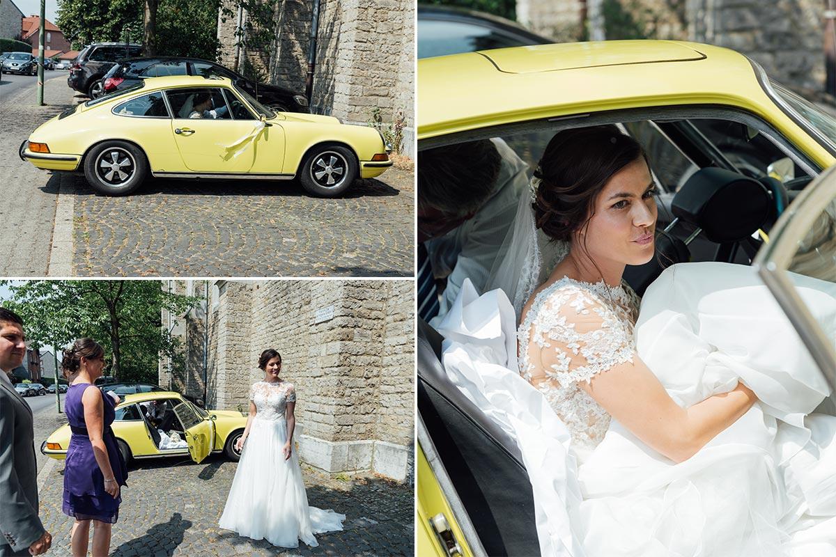 Ankunft Braut Stolberg Hochzeit