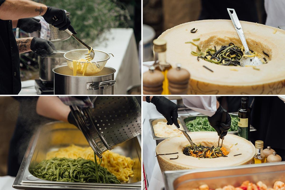 Catering Pasta Bar