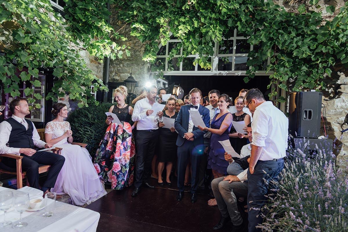 DIY Hochzeit Hochzeitsfeier