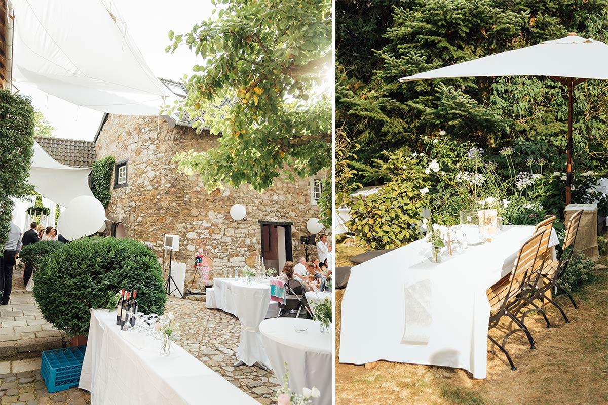 DIY Hochzeit Aachen Kornelimünster