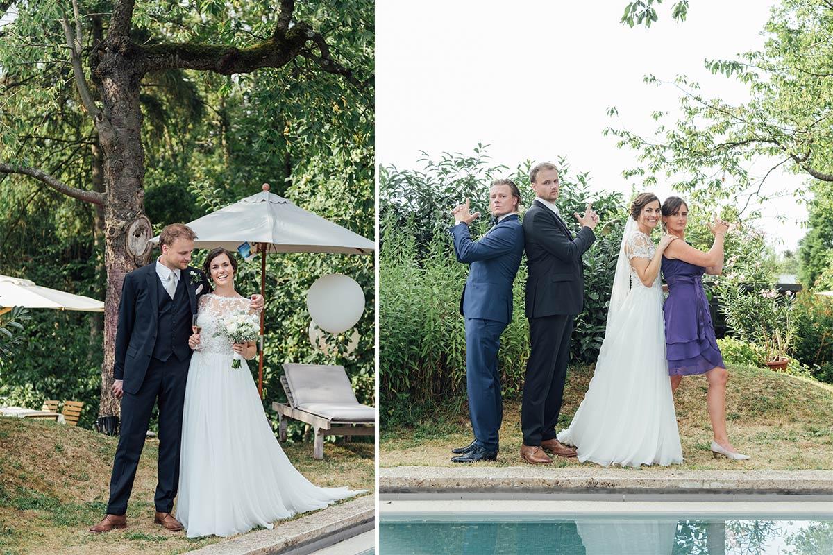 Gruppenfotos DIY Hochzeit Aachen