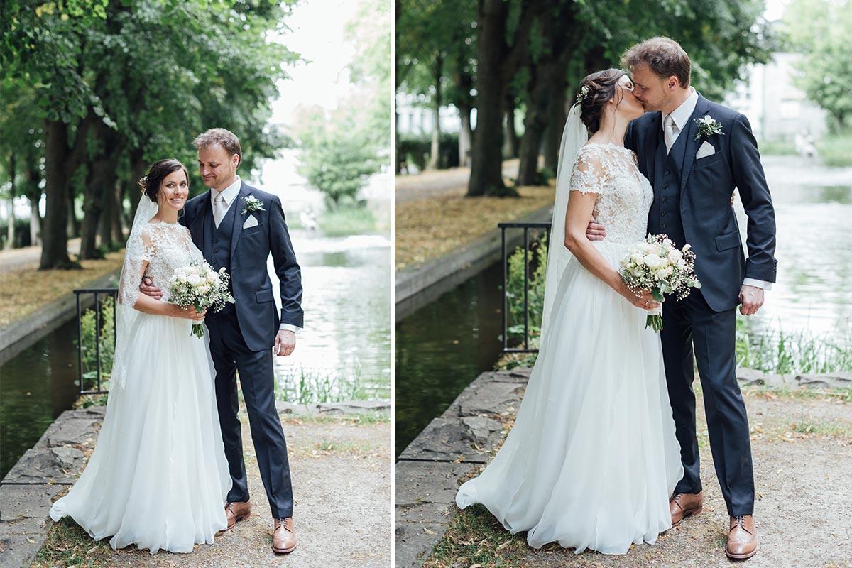 Hochzeitsfotos Park Kornelimünster