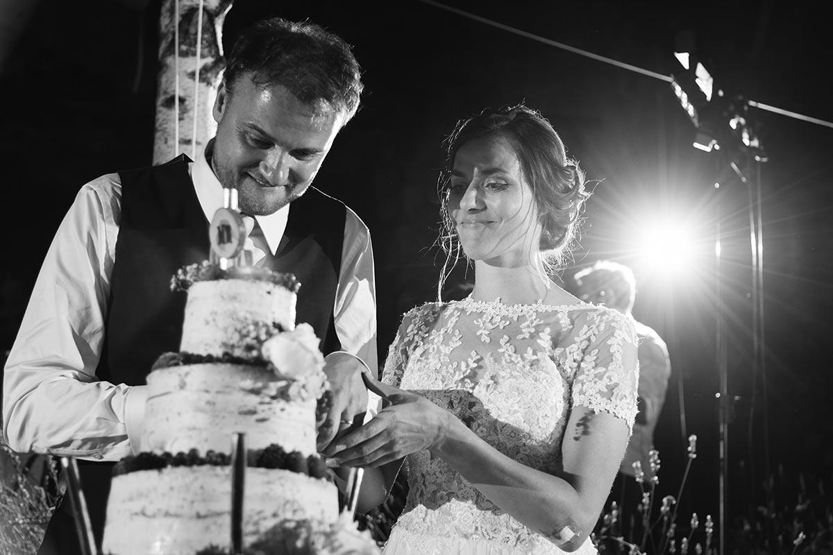 Hochzeitskuchen Naked Cake