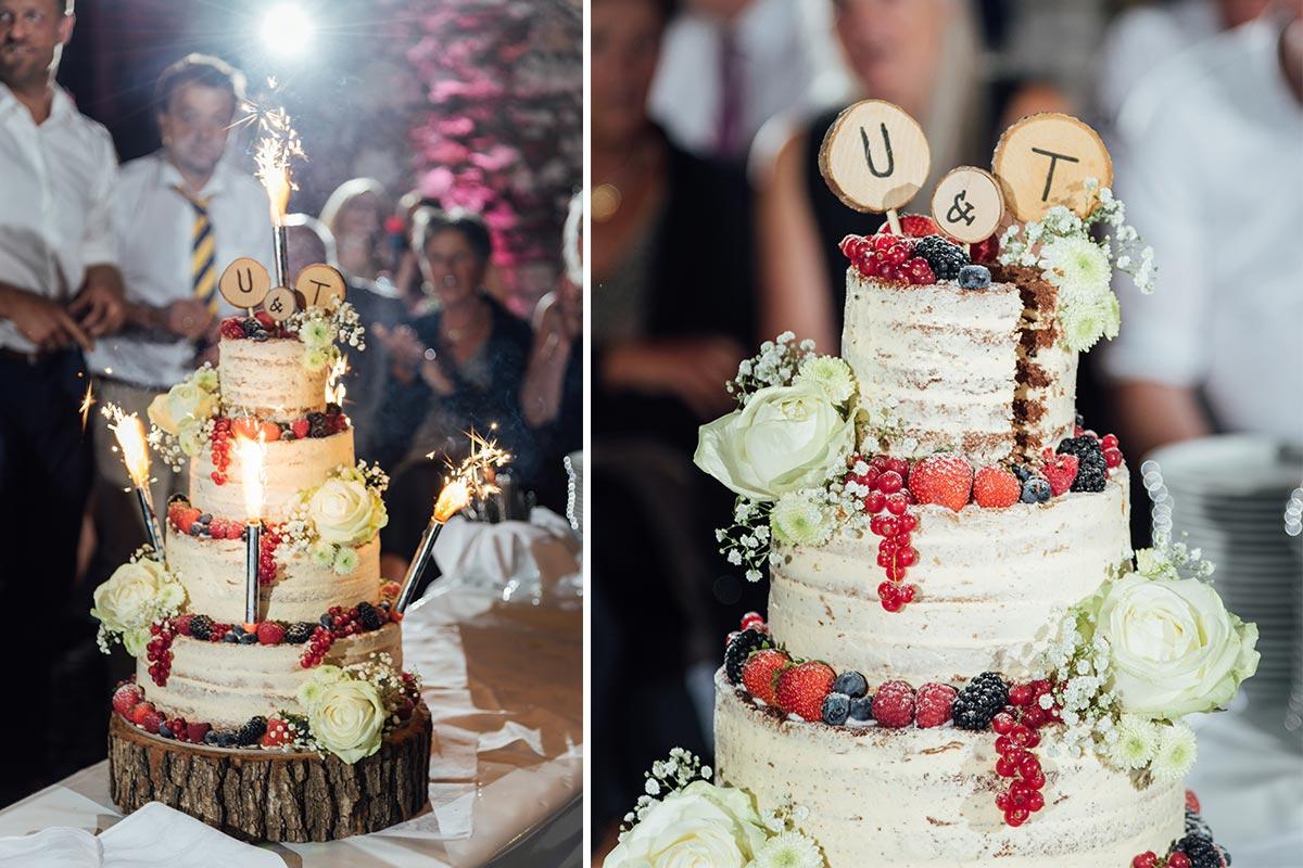 Hochzeitstorte Naked Cake Aachen