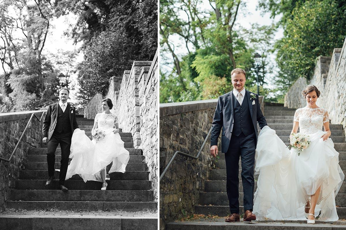 Natürliche Hochzeitsfotos Kornelimünster