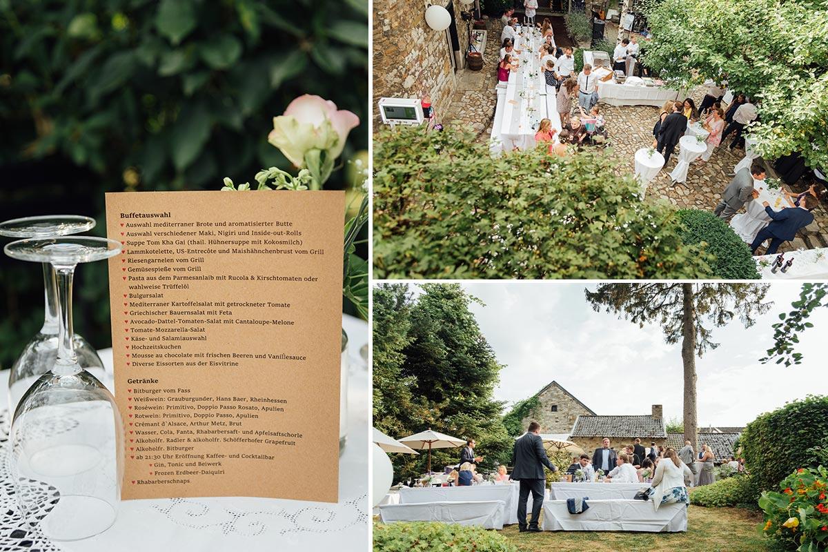 Outdoor Hochzeit Aachen Kornelimünster