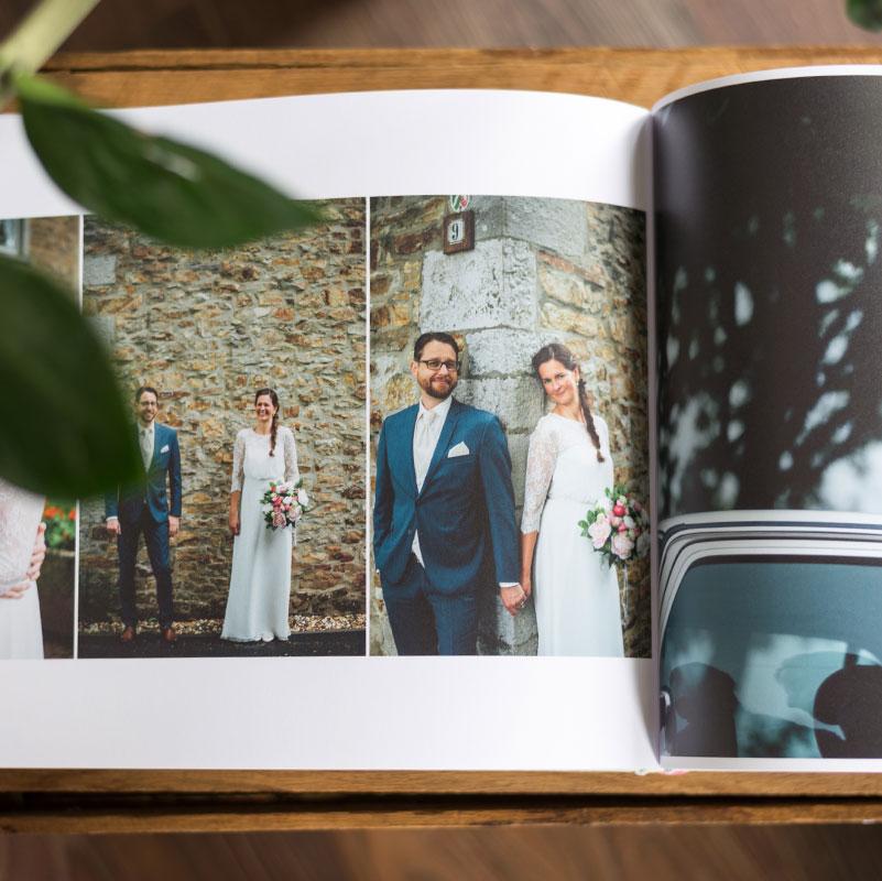 Hochwertiges Hochzeitsfotoalbum