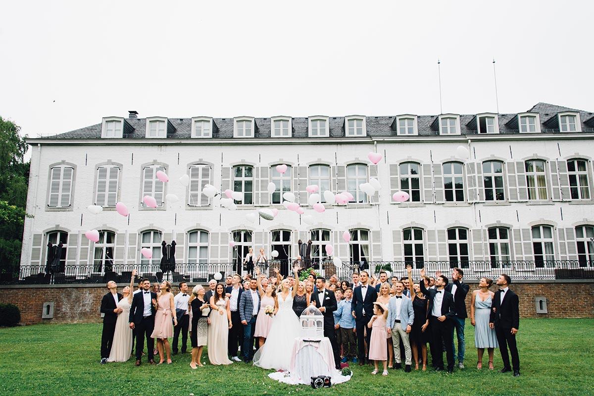 Aachen Ballons steigen lassen Hochzeit