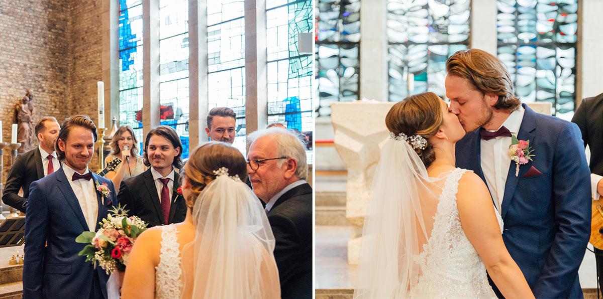 Ankunft Braut in Marienkirche Düren