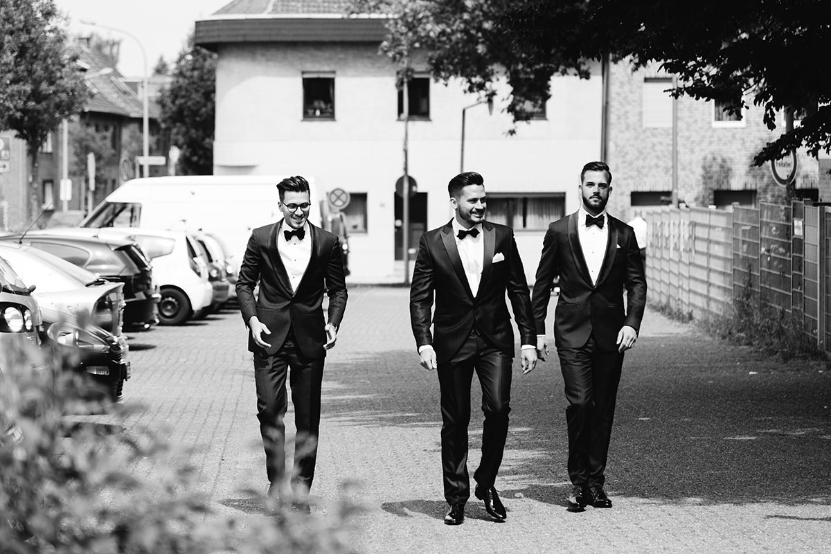 Bräutigam Best Men Standesamt Baesweiler