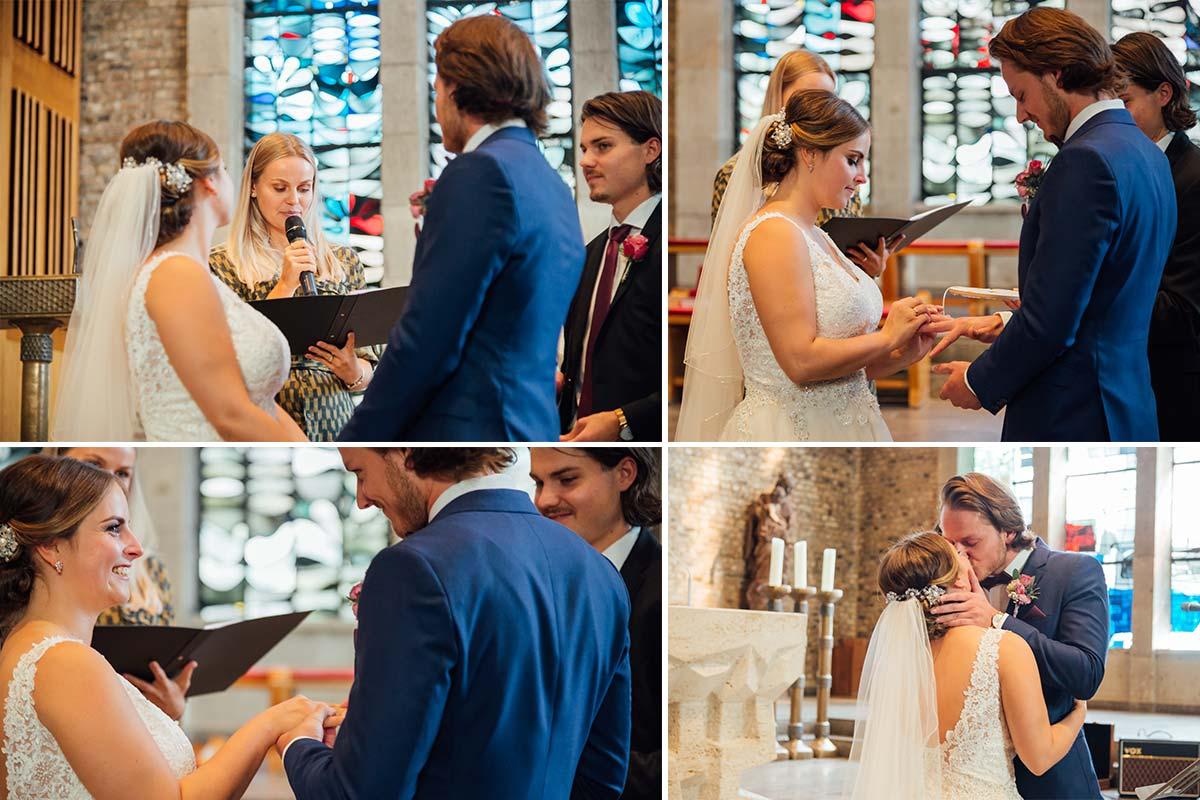 Brautpaar Hochzeit Marienkirche Düren