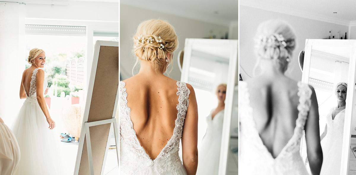 Getting Ready - Vintage Hochzeitsreportage