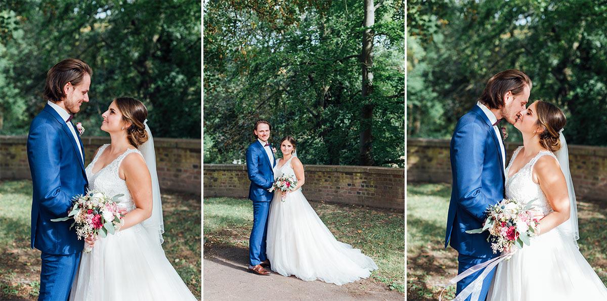 Hochzeit Schloss Burgau Brautpaarfotos