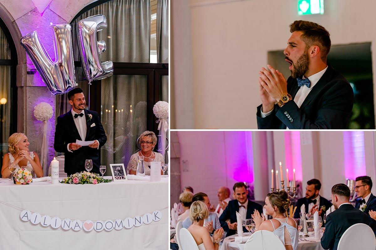 Hochzeitsfeier Aachen Schloss Rahe